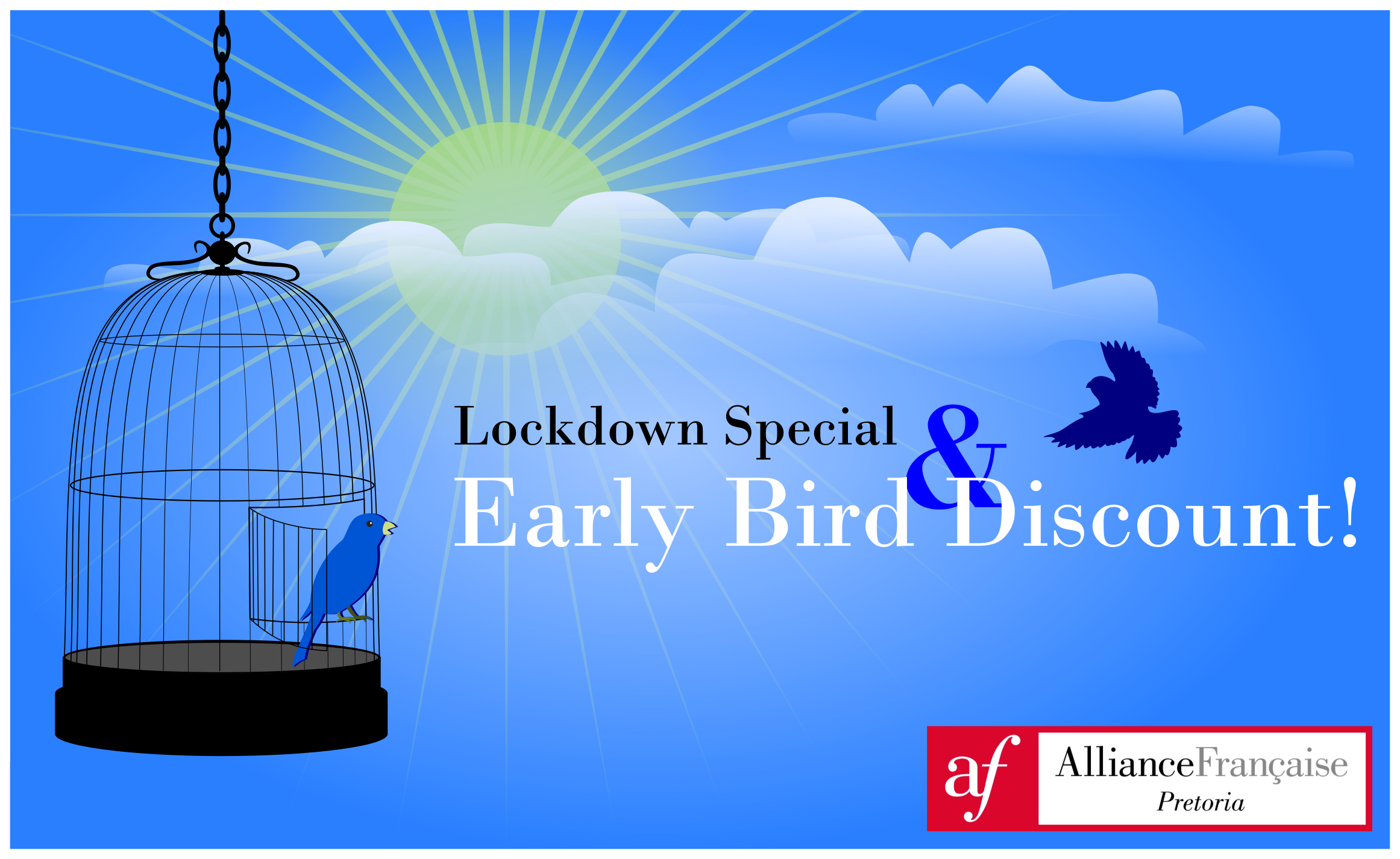 Lockdown Special & Early Bird Discount