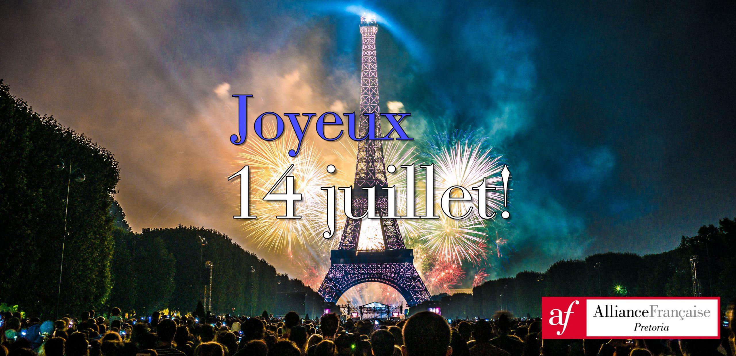 Bastille day? Non, c'est la fête nationale!