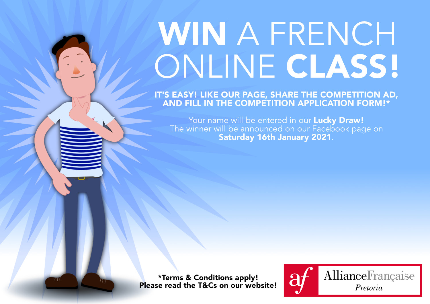 Win an Online Class Competition